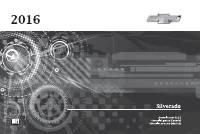 manual Chevrolet-Silverado 1500 2016 pag001