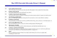 manual Chevrolet-Silverado 1500 1999 pag001