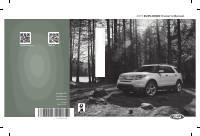 manual Ford-Explorer 2015 pag001